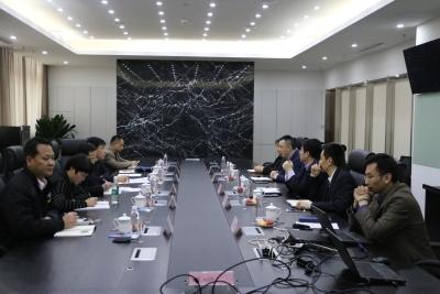 无锡市机关管理局领导到江阴市新潮集团开展走访交流活动